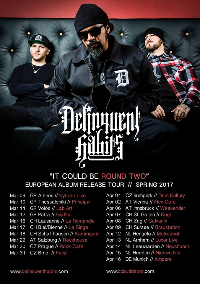 Our next European tour, starts this week – Delinquent